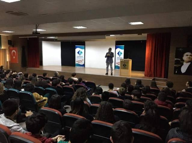 Çanakkale Koleji'nde korona eğitimi