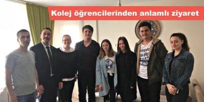 Çanakkale Koleji Öğrencilerinden Anlamlı Ziyaret