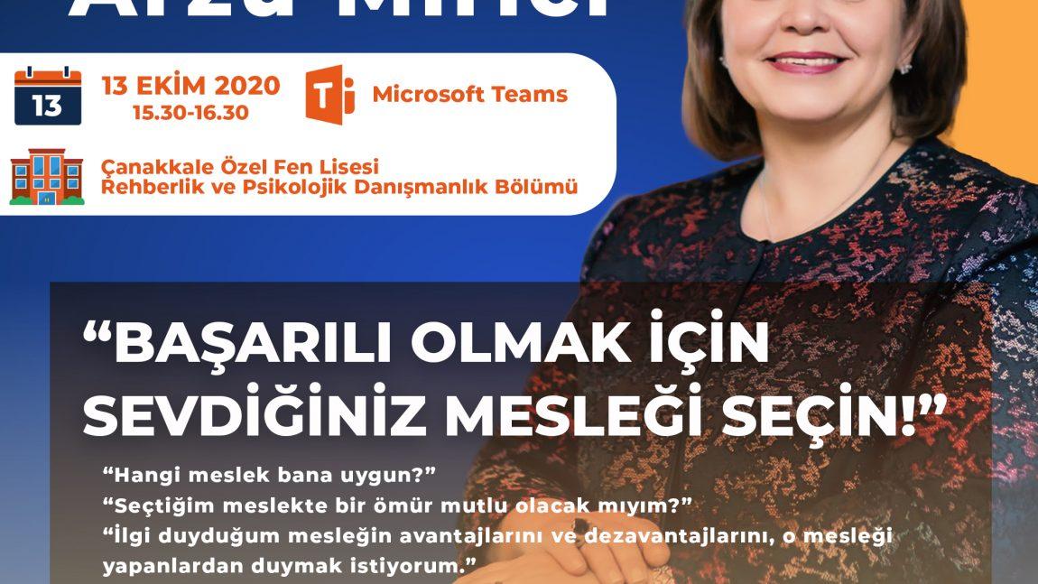 """""""MESLEK TANITIM VE KARİYER PLANLAMA GÜNLERİ""""NE DAVETLİSİNİZ."""