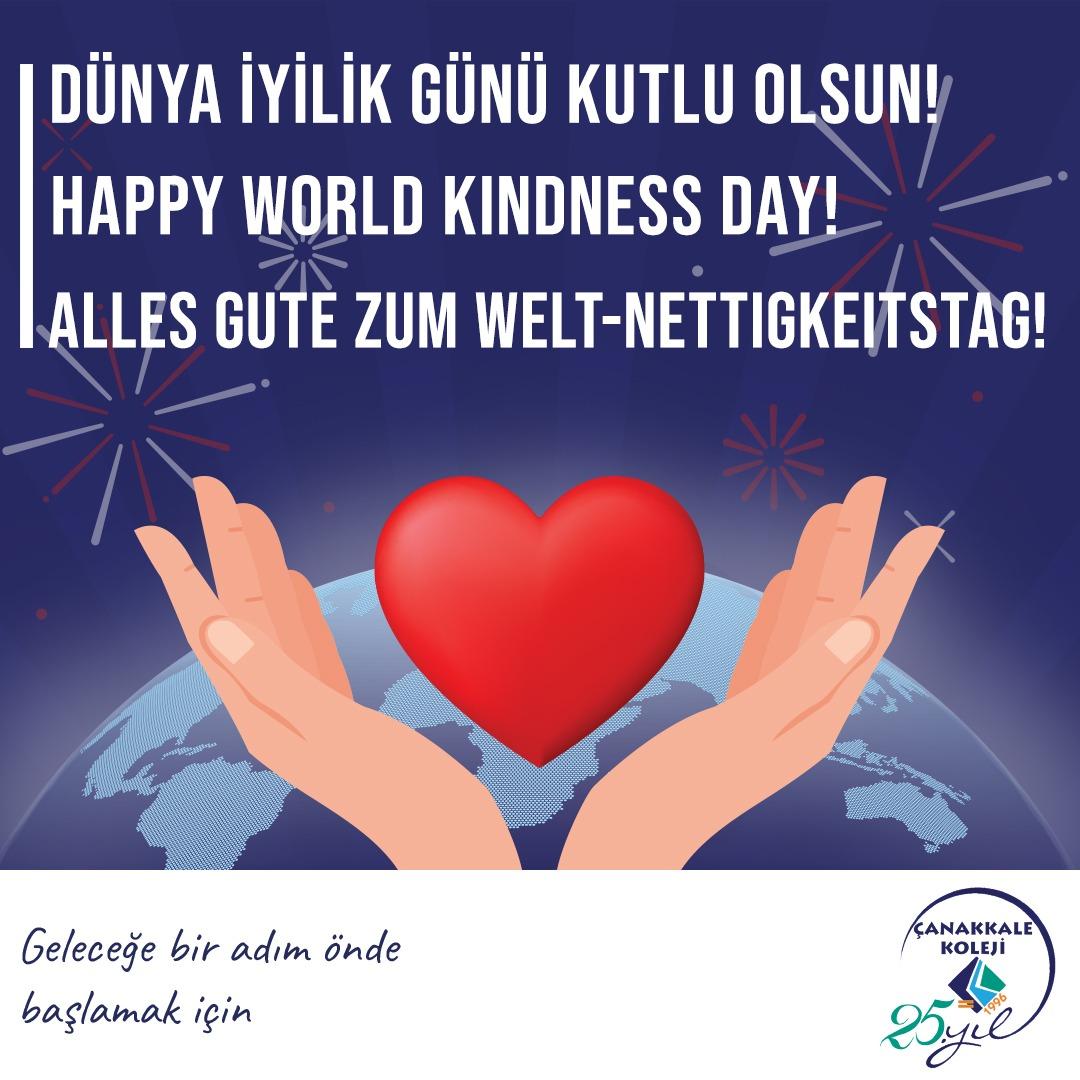 Dünya İyilik Gününüz kutlu olsun