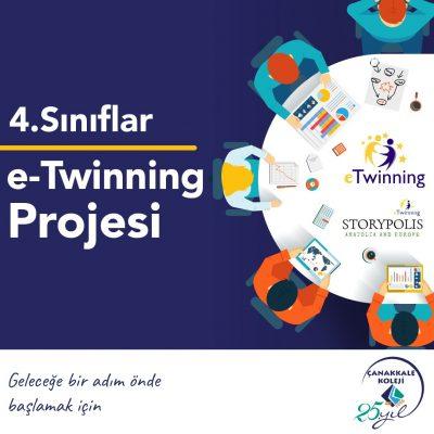 4.Sınıflar e-Twinning Projesi
