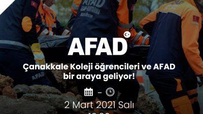 AFAD'DAN DEPREM VE AFET EĞİTİMİ