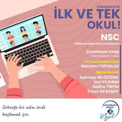 ÇANAKKALE'DE BİR İLK-NSC