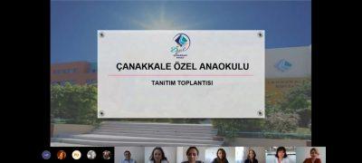 ANAOKULU ONLINE TANITIM TOPLANTIMIZI GERÇEKLEŞTİRDİK