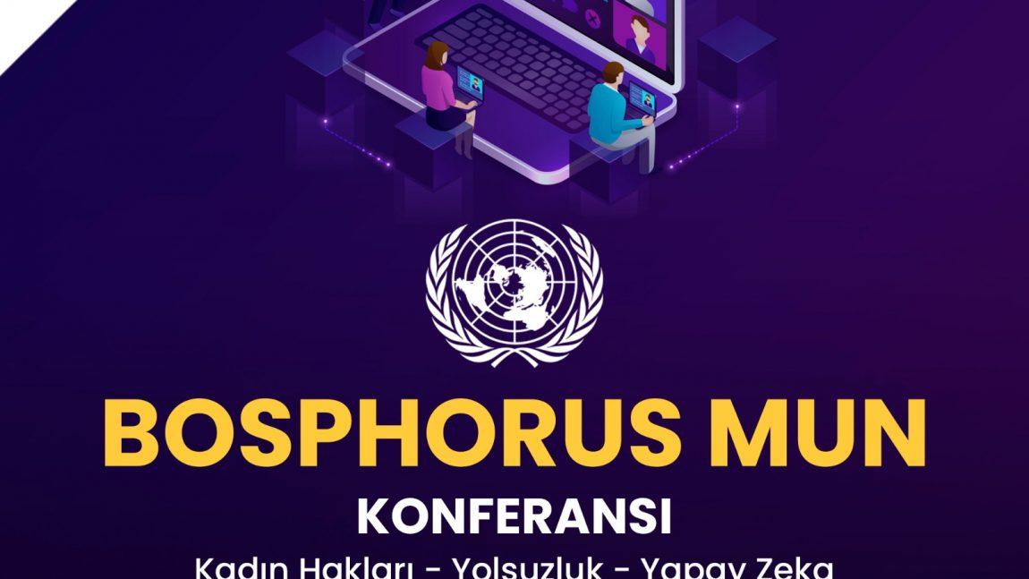 BOSPHORUS MUN KONFERANSINDA 16 ÖĞRENCİMİZ ÖDÜL ALDI