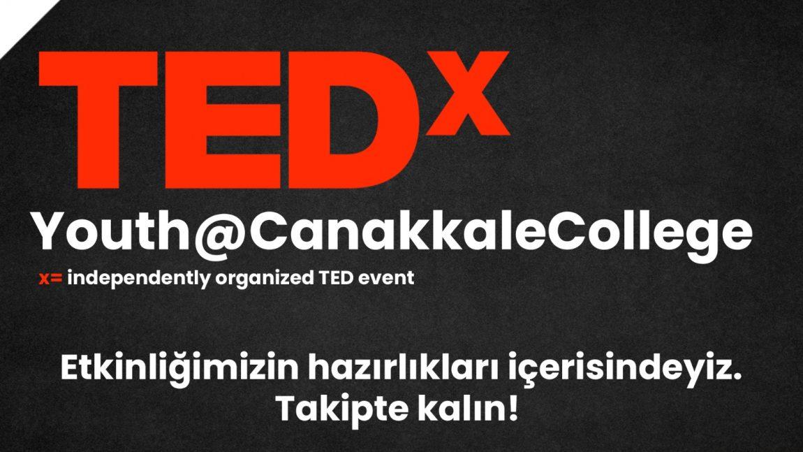 TEDX YOUTH ETKİNLİĞİMİZ