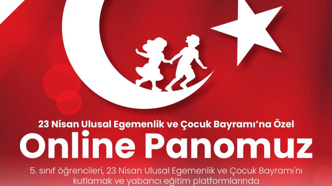 İNGİLİZCE DERSİNDE SANAL PANO HAZIRLADIK