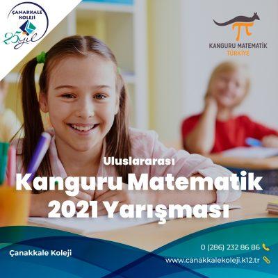 ULUSLARARASI KANGURU MATEMATİK 2021 YARIŞMASI