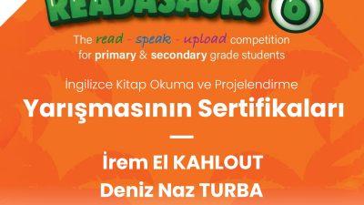 READASAURS YARIŞMASI ÖDÜLLERİ VERİLDİ