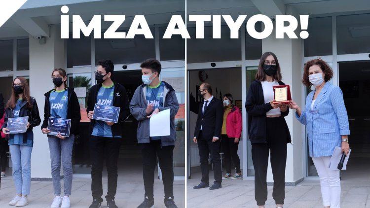Anadolu ve Fen Lisesi Öğrencileri İLKLERE İMZA ATIYOR!