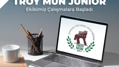 TROY MUN JUNIOR EKİBİMİZ ÇALIŞMALARA BAŞLADI